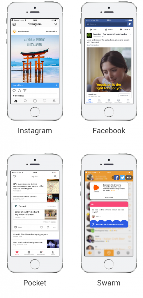 mobile native ad formats to look for