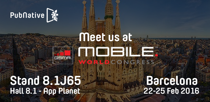 MWC tickets giveaway PubNative