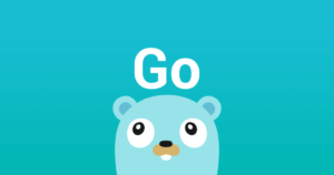 Gopher golang mascot static image