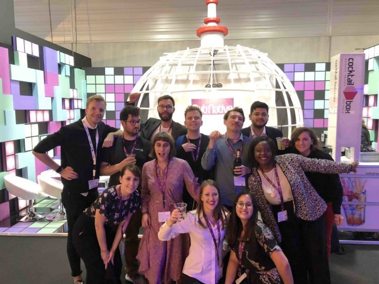 The PubNative team at DMEXCO 2018