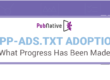 [Infographic] app-ads.txt Adoption: What Progress Has Been Made?