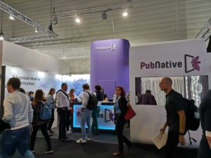 PubNative booth at DMEXCO 2019